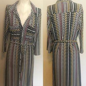 Mlle Gabrielle Size L Shirt Dress